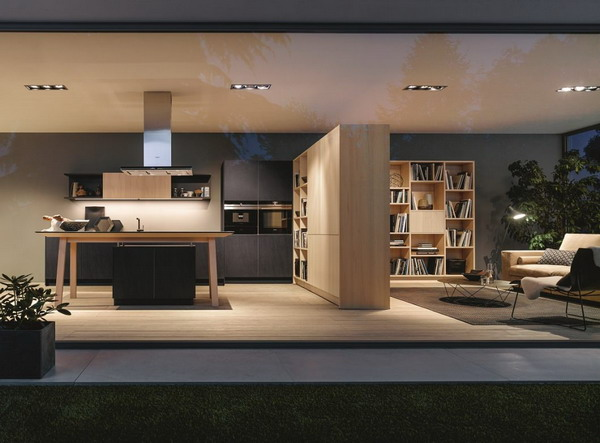 Kitchen Trends 2021 Lots Of Wood, Lots Of Black, Lots Of Storage Space 0