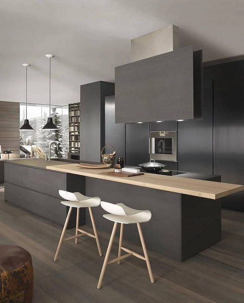 Trends 2021 In Kitchen Design Fashionable Styles Colors And Accessories Ekitchentrends