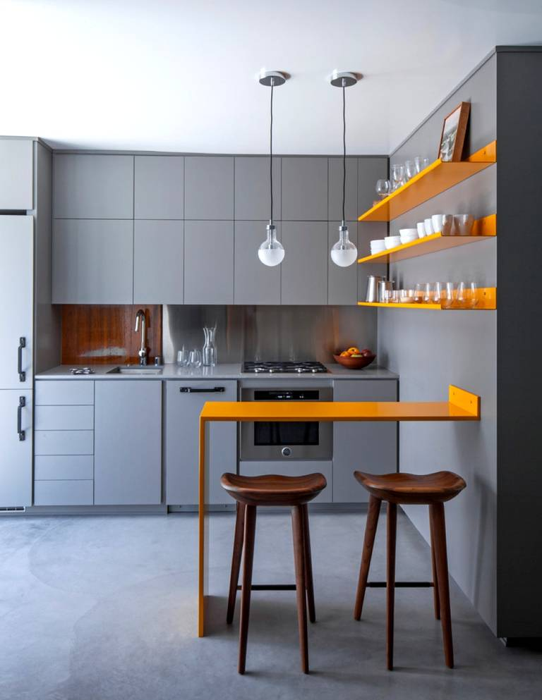 Rules For Combining Colors In The Interior Of The Kitchen 7