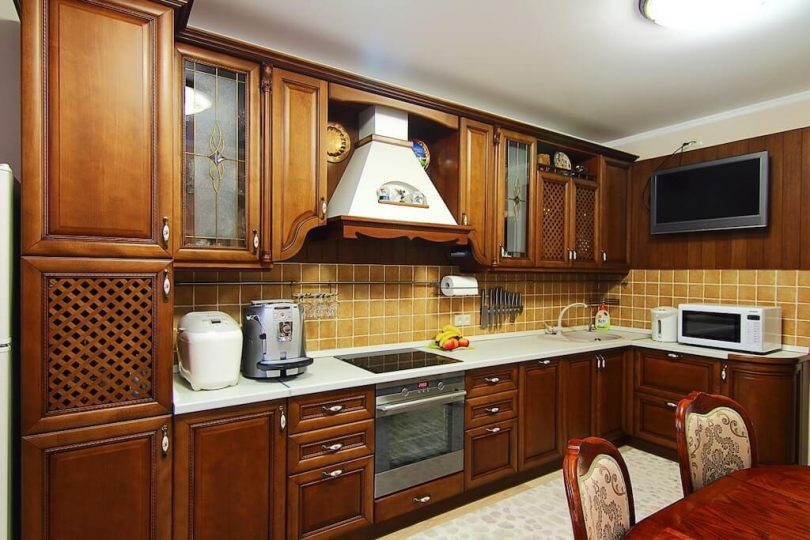 Solid Wood Kitchen Style Design Trends 2021 0