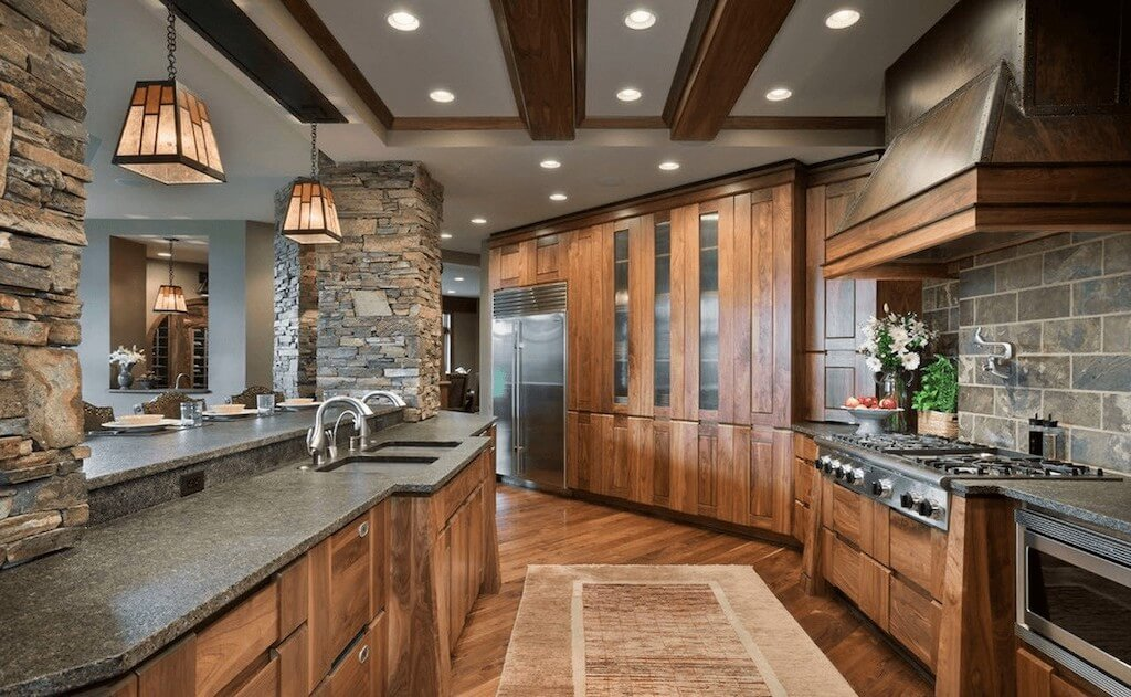 Solid Wood Kitchen Style Design Trends 2021 12