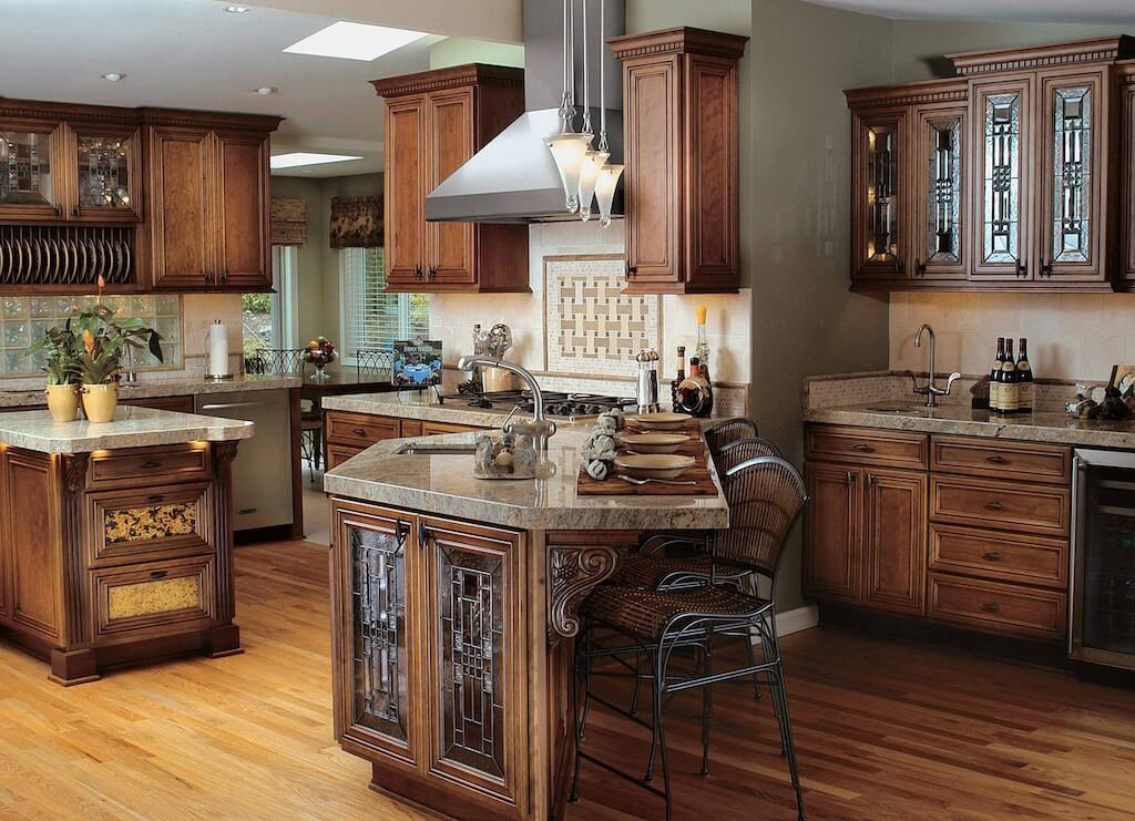 Solid Wood Kitchen Style Design Trends 2021 14