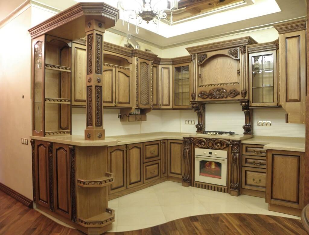 Solid Wood Kitchen Style Design Trends 2021 16
