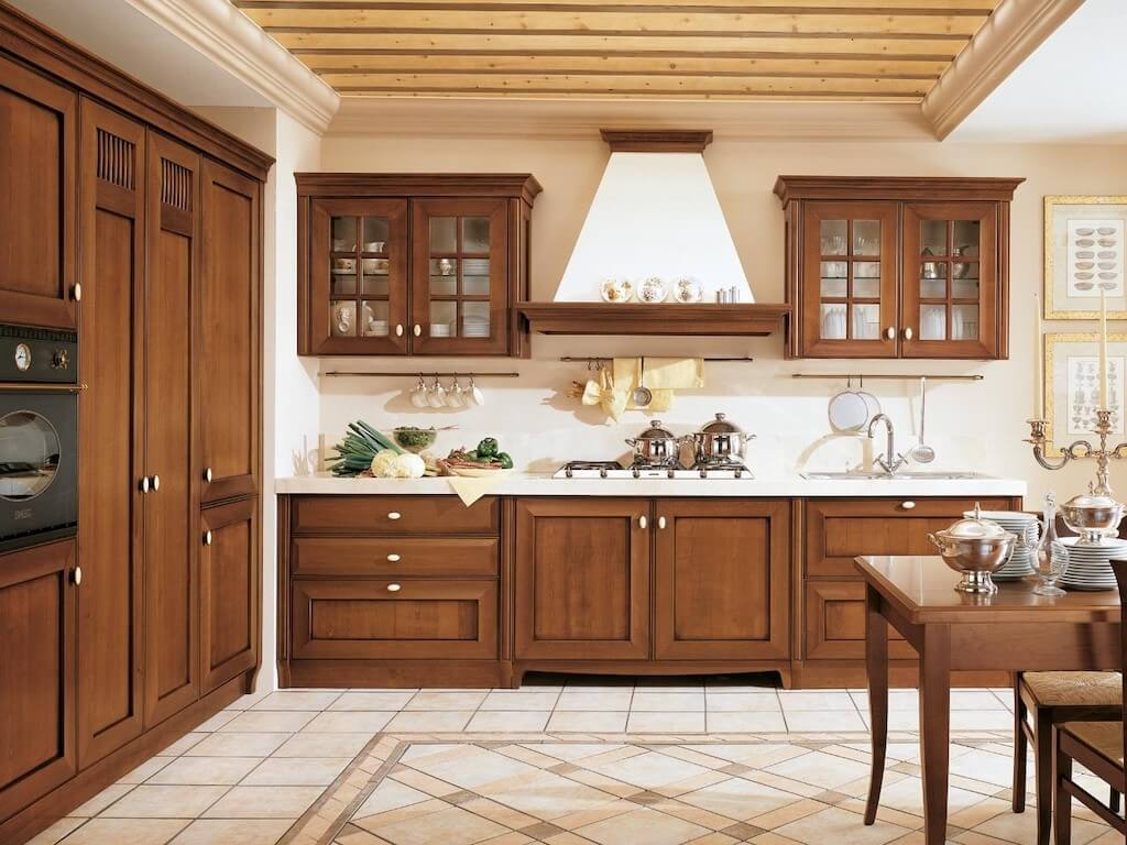 Solid Wood Kitchen Style Design Trends 2021 19