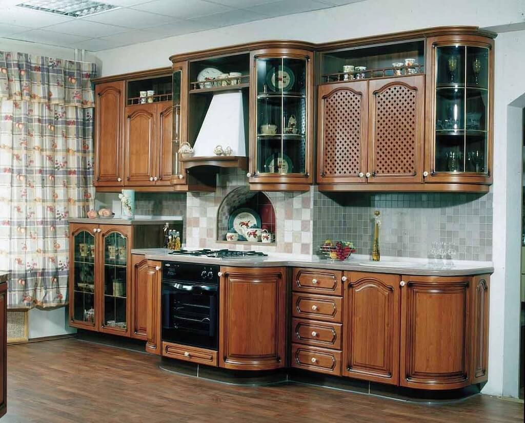 Solid Wood Kitchen Style Design Trends 2021 6