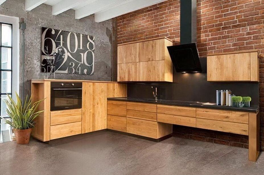 Solid Wood Kitchen Style Design Trends 2021 9