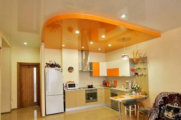 Stretch Ceiling For The Kitchen 7