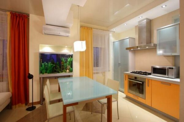 How To Choose A Stretch Ceiling For The Kitchen