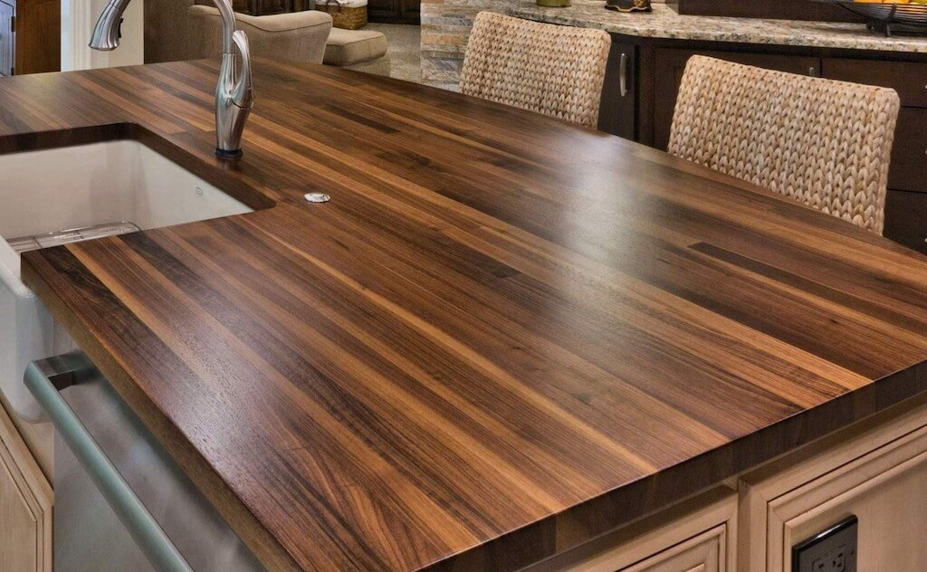 Wooden Countertop Trends for Kitchen 2021 1