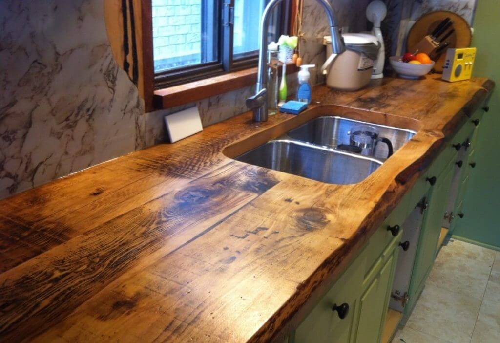 Wooden Countertop Trends for Kitchen 2021 8