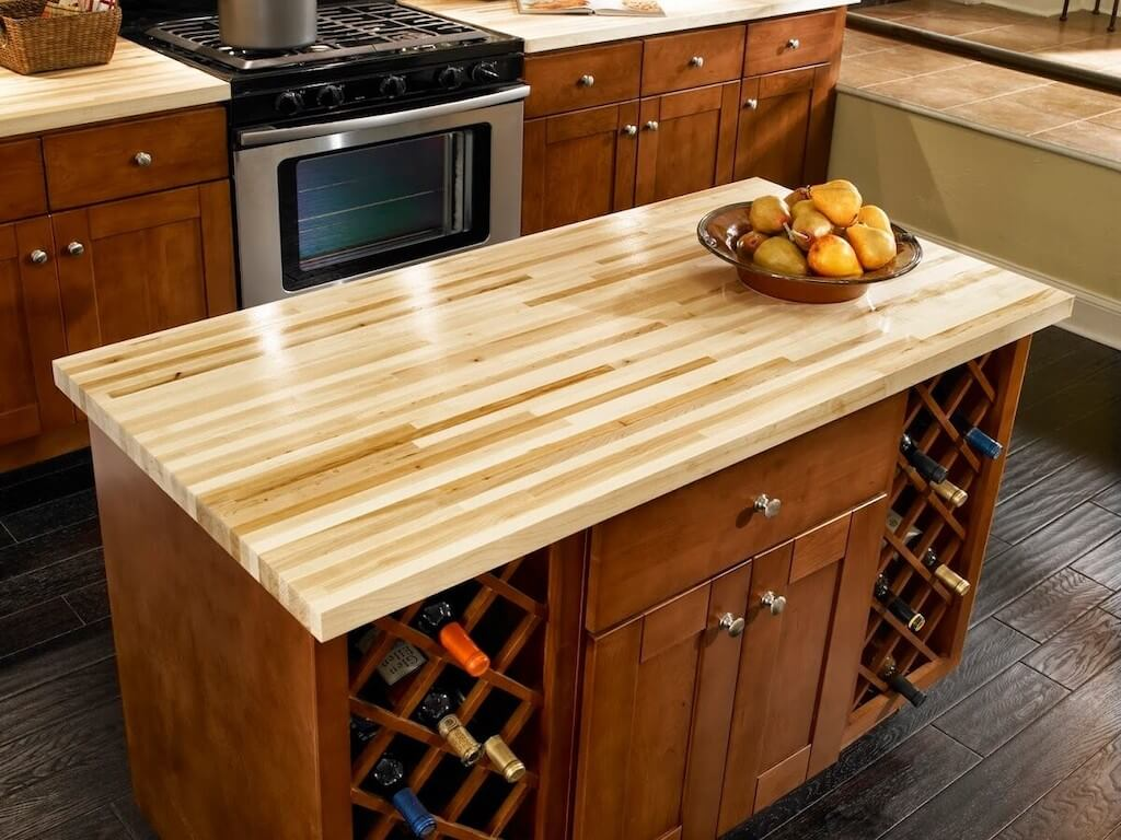 Wooden Countertop Trends for Kitchen 2021 9