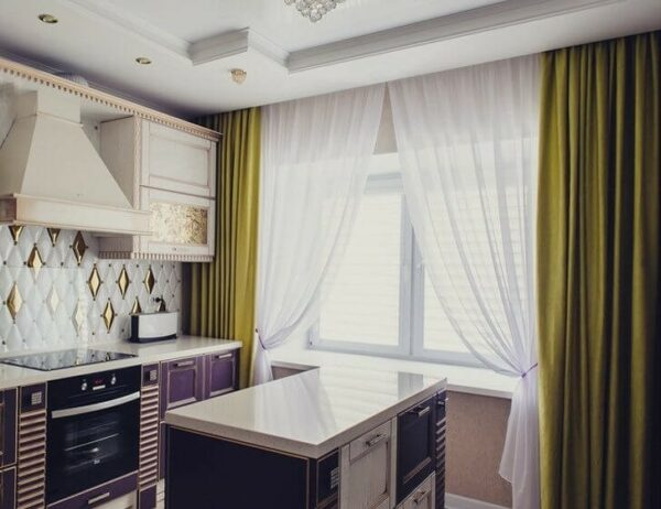 How To Choose Curtains For The Kitchen The Latest Trends In 2021 Ekitchentrends