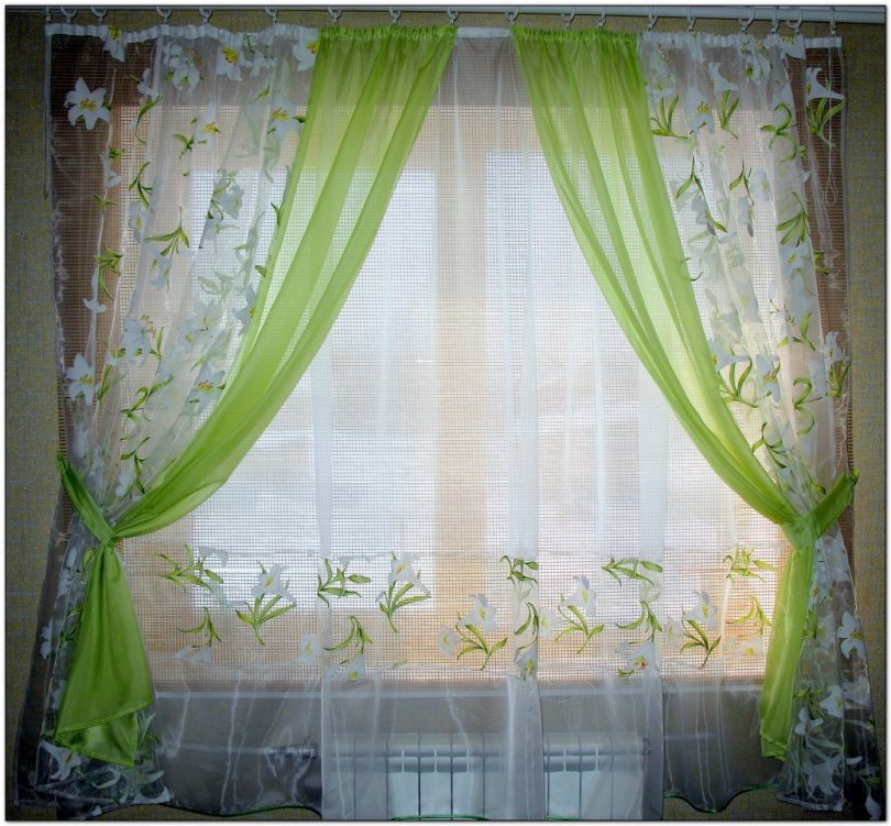 latest trends curtains for kitchen 2021 6