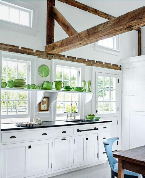 White kitchen black countertop: ideas and inspiration for ...