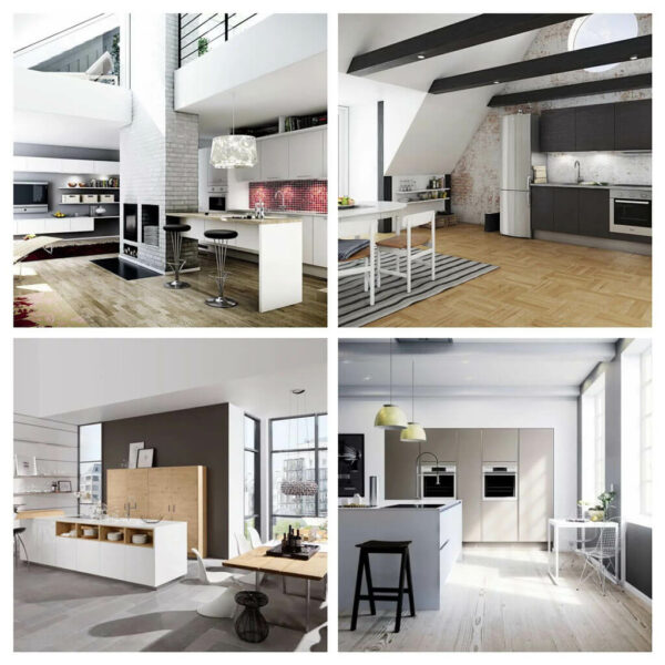 interior of modern kitchen 2021