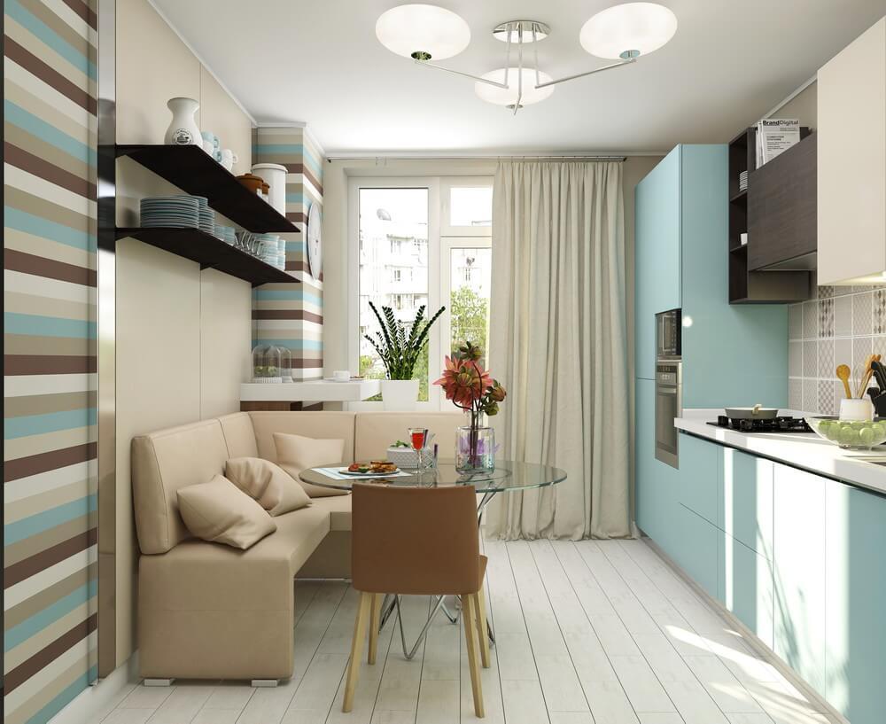 interior of modern kitchen 2021