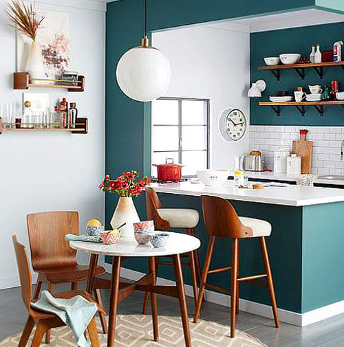 Kitchen paint: 6 trendy colors in 2021
