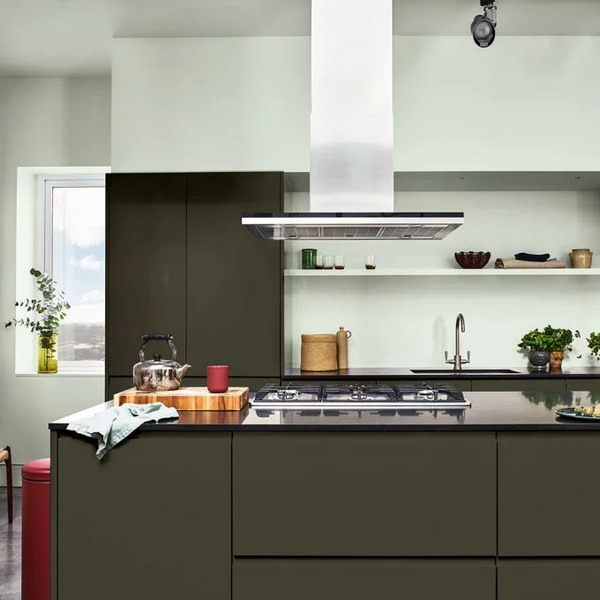 Trendy Paint Color Trends 2021 For Irresistible Kitchen 3
