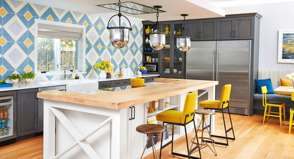Wall decoration trends in the kitchen