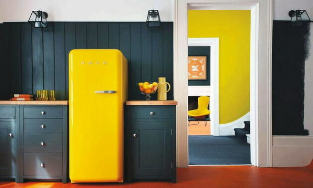 Retro Style Kitchen Interior Trends 2021