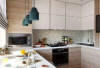 2021 trends in kitchen design fashionable styles colors accessories 7