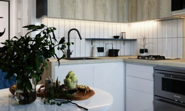 New Design Styles Of Small Kitchens In 2021