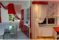 popular trends modern curtains for kitchen in 2022 2