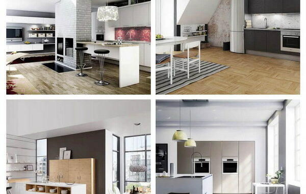 Fashionable Design in the Interior of Modern Kitchen In 2023